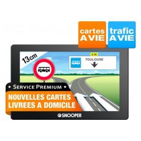 """AC5400 PREMIUM - GPS Autocars SNOOPER 5"""" DVR"""