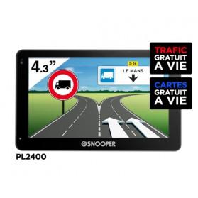 PL2400 PREMIUM - GPS Poids Lourds SNOOPER 4'3