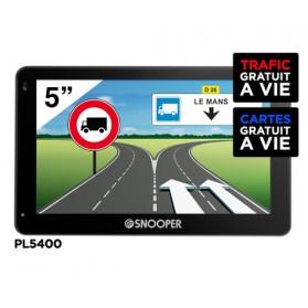PL5400 PREMIUM - GPS Poids Lourds SNOOPER 5' DVR